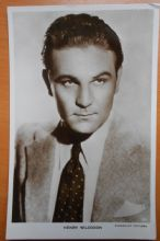 Henry Wilcoxon, Actor,Vintage Postcard, Paramount Pictures no 110, c1930s